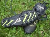 Molded cleats are good for muddy and wet conditions.